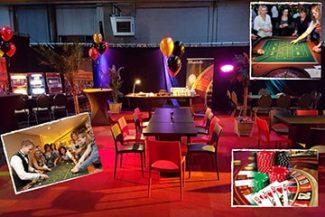 Themafeest Casino Night | Buiten Centrum de Poort